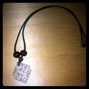 Other - Buddhist Endless knot necklace